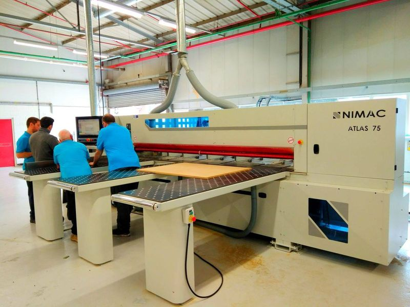 ATLAS UK NIMAC GROUP BEAM SAW800